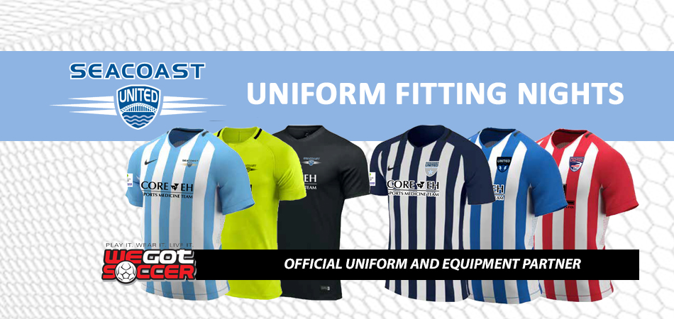 NEW UNIFORM FITTING DATE ANNOUNCED: TUESDAY JULY 3rd